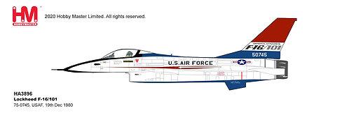 F-16 USAF 75-0745 Test Aircraft 1:72 HA3896
