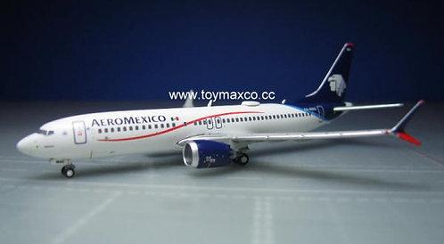 Aeromexico B737 Max 8 1:400 GJAMX1715
