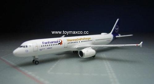 Lufthansa A321 Fanhansa 1:500 HE531979