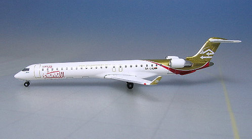Libyan Airlines CRJ-900 5A-LAL 1:500 HE524001