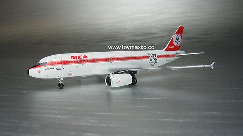 MEA A320 75th Retro OD-MRT 1:400 ACODMRT
