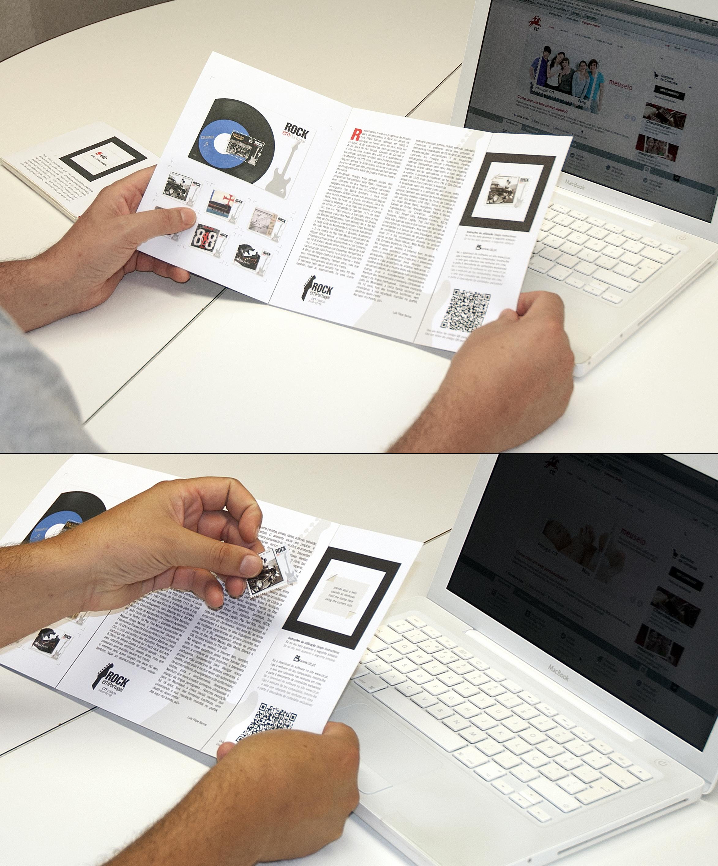 Pagelas CTT com realidade aumentada