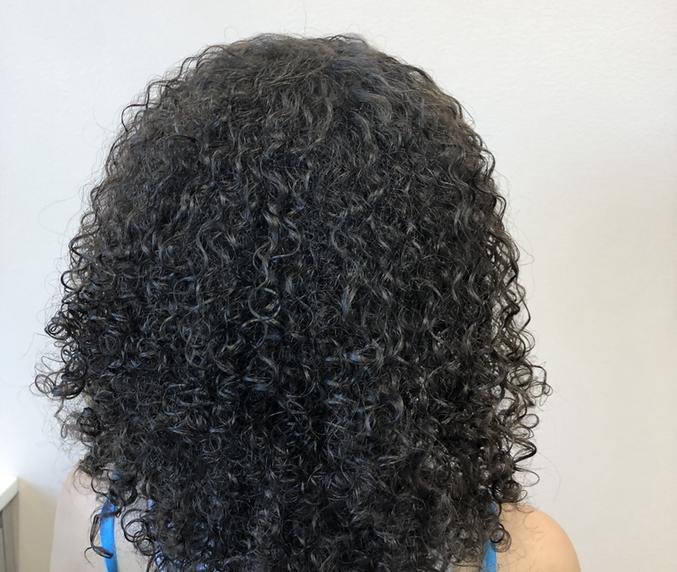backsilhouettecurls