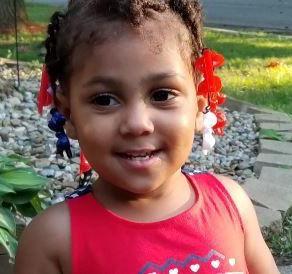 Ta'naja Barnes, Age 2, February 11, 2019, Decatur, Macon County, Illinois