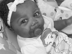 Lailanni Fields, 4 months old, October 18, 2021, Chicago, Illinois
