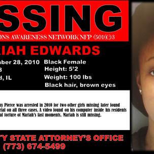 Mariah Edwards, 17, Blue Island, Cook County, Illinois