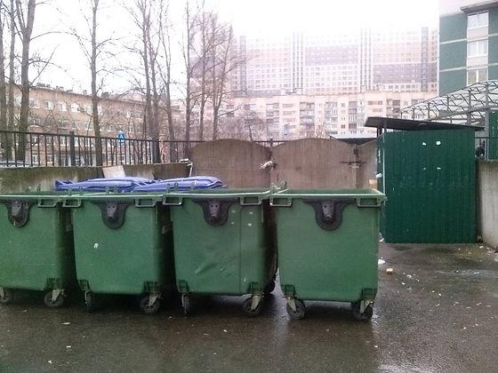 Контейнер для вторсырья и макулатуры расположен по адресу улица Шелгунова, 9к1 в Невском районе Санкт-Петербурга.