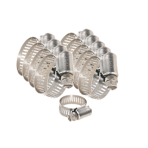 """1"""" Gear Clamps - 10 Pack"""