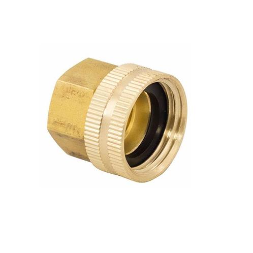 "3/4"" Hose Swivel Brass Adapter"