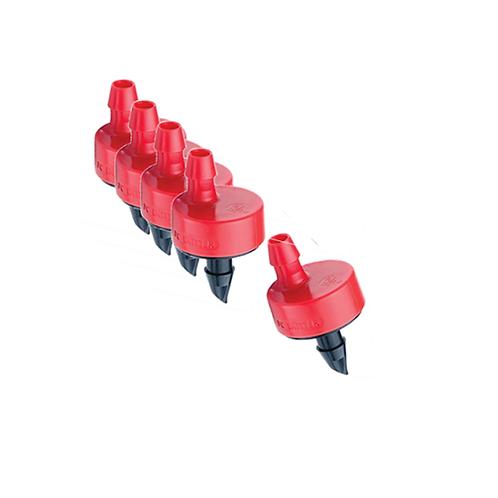 2 GPH Red Emitter (5 Pack)
