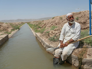 Afghan Villagers Learn Sustainable Irrigation Practices through On-Farm Water Management Project
