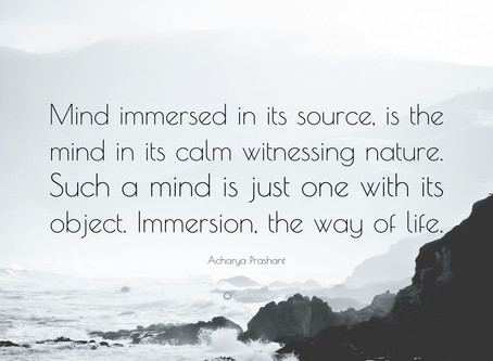 Witnessing Mind