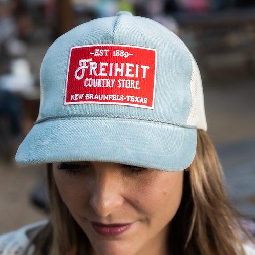 Baby Blue Corduroy Freiheit Hat