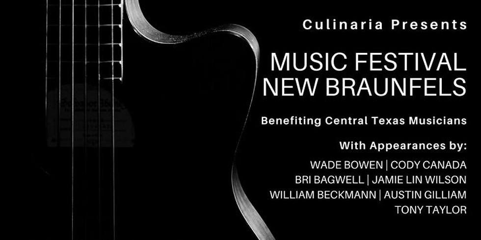 Culinaria Music Festival New Braunfels