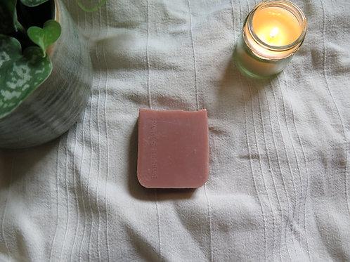 Pink Clay & Rose Geranium Artisan Soap