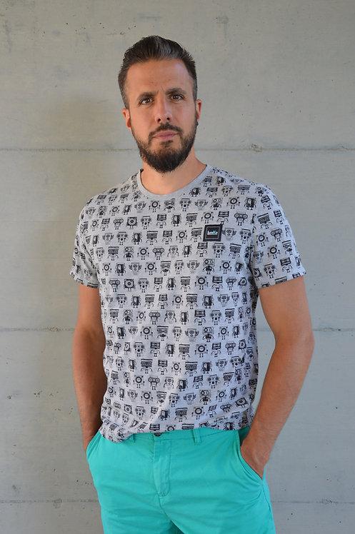 T-Shirt homme radio Vintage
