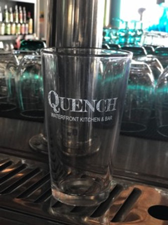 Quench Pint Glasses set of 4