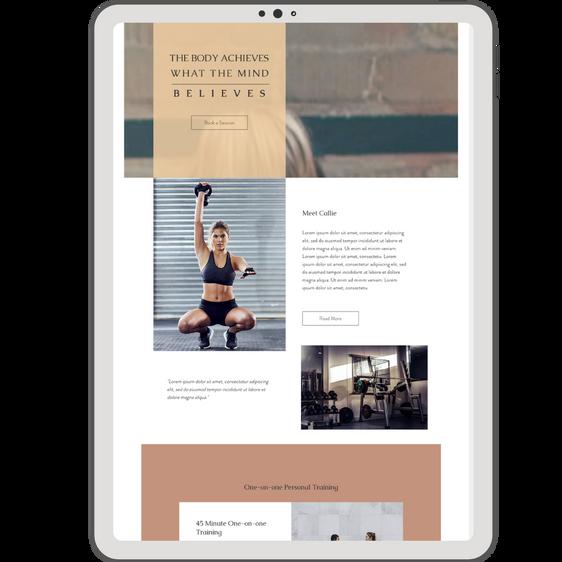 Wix Website Template | Callie