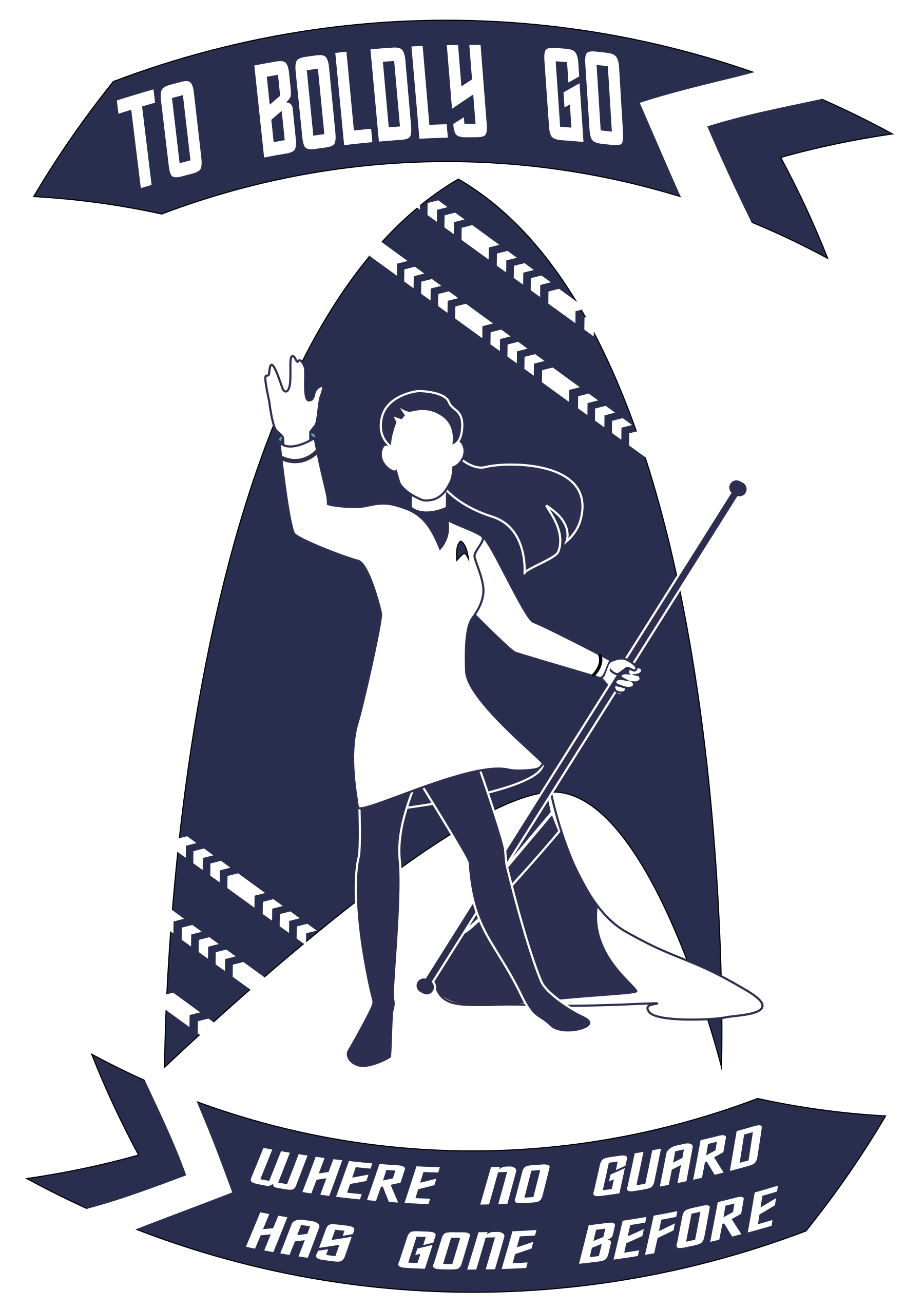 Color Guard Sweater logo