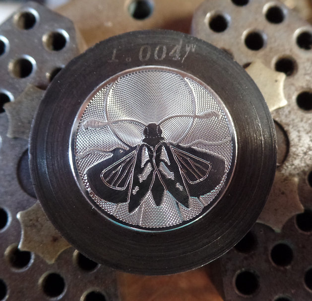 Hand Engraved Wings