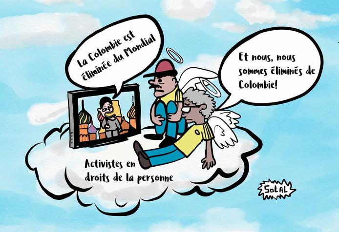 Assassinat de militants·es des droits humains en Colombie