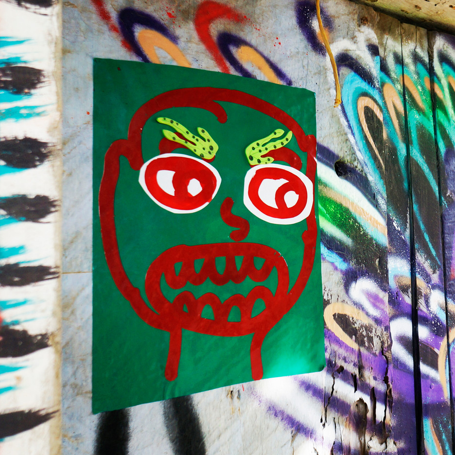 Angry ego doodle