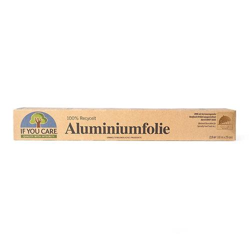 Aluminiumfolie - if you care