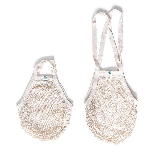 Organic string bags, natural - ECOBAGS