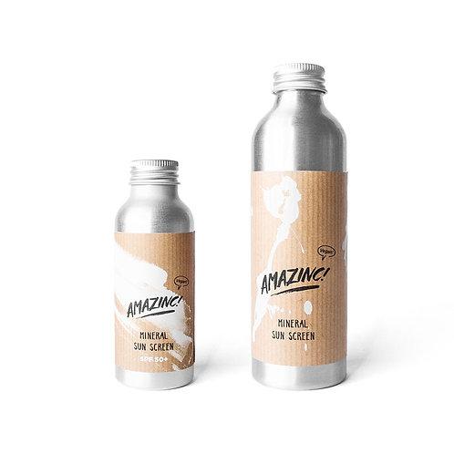 Mineral sunscreen - Amazinc