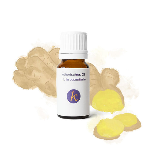 Ginger | Organic Essential Oil - Khaty's