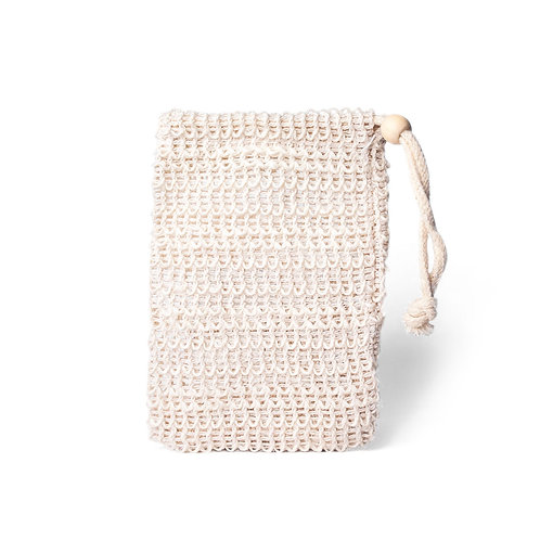 Sisal soap pouch - the sage