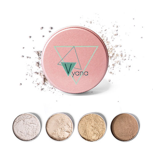 Mineral-free powder foundation - Vyana