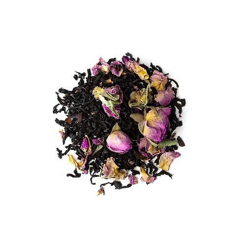 «Jivamukti Chocolate Rose» Tee - ManuTeeFaktur