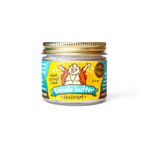 Kokosnuss Deo Creme im Glas, vegan, cruelty free, zero waste, Booda Organics