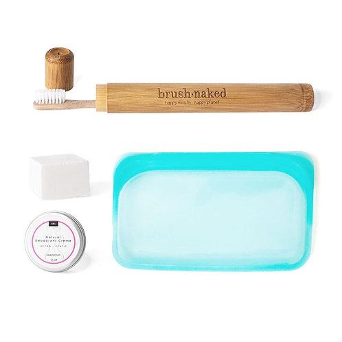 Travel Bathroom Kit Bunt - the sage