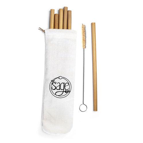 Bambus-Trinkhalme natur - the sage