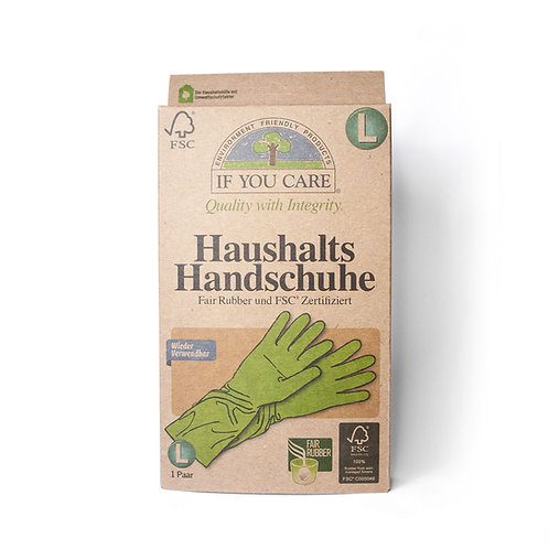 Haushalts Handschuhe - if you care