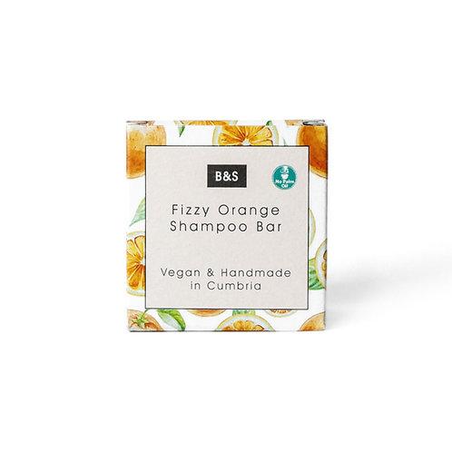 Festes Shampoo «Fizzy Orange» - Bain & Savon