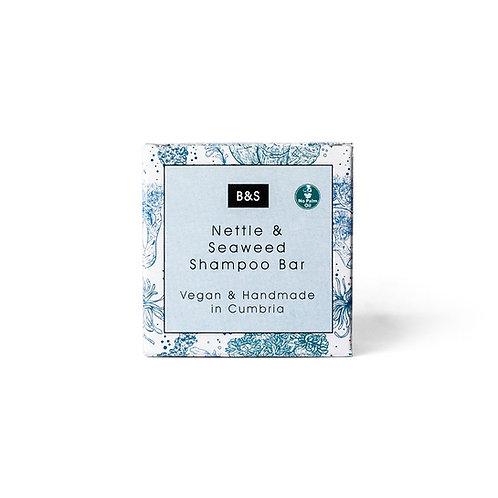 Solid shampoo «Nettle & Seaweed» - Bain & Savon