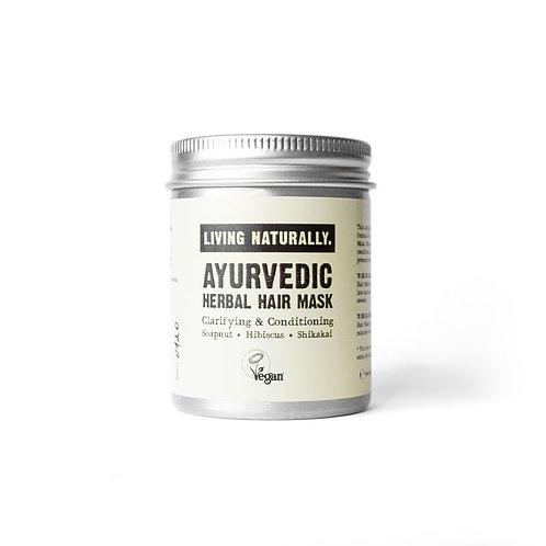 Ayurvedische Kräuter-Haarmaske / Shampoo - Living Naturally.