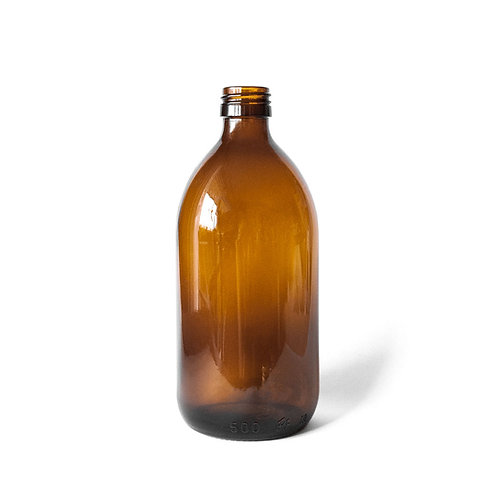 Glass bottle 500ml - the sage