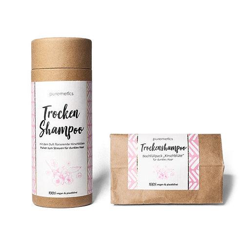 Dry shampoo for dark hair «Cherry Blossom» - Puremetics
