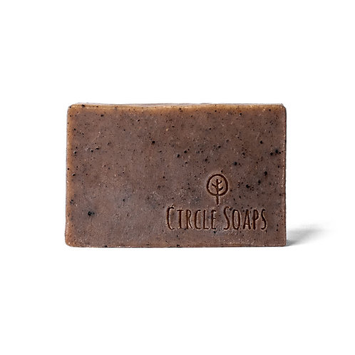 Face and body soap «The Barista» - Circle Soaps