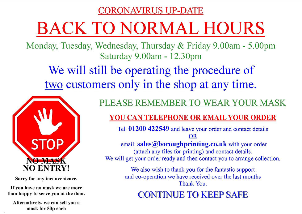 Back to Normal Hours - No Mask No Entry.jpg