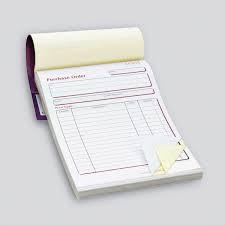 NCR Invoice Pads