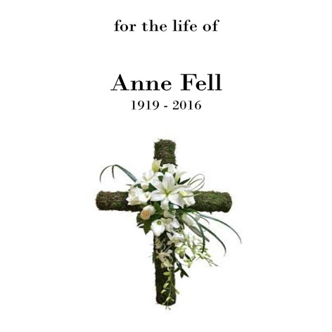 Funeral Service Sheet