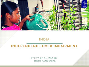 INDIA: INDEPENDENCE OVER IMPAIRMENT