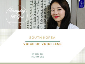 SOUTH KOREA: VOICE OF VOICELESS