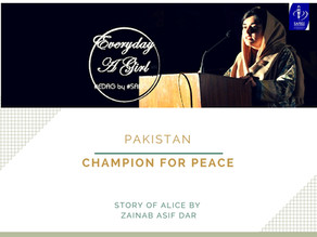 PAKISTAN: CHAMPION FOR PEACE