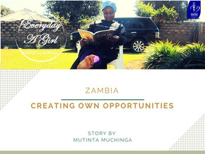 ZAMBIA: CREATING OWN OPPORTUNITIES